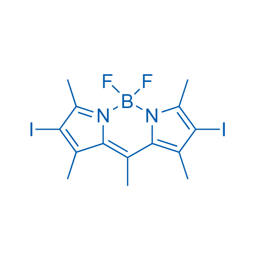 5,5-Difluoro-2,8-diiodo-1,3,7,9,10-pentamethyl-5H-4l4,5l4-dipyrrolo[1,2-c:2',1'-f][1,3,2]diazaborinine
