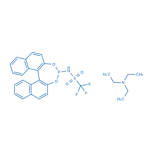 N-[Dinaphtho[2,1-d:1',2'-f][1,3,2]dioxaphosphepin-4-yl]-1,1,1-trifluoromethanesulfonamide triethylamine adduct