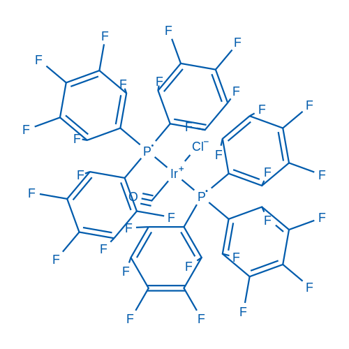 (SP-4-3)-Carbonylchlorobis[tris(pentafluorophenyl)phosphine]Iridium