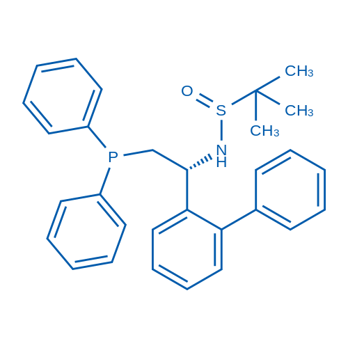 (R)-N-((R)-1-([1,1'-Biphenyl]-2-yl)-2-(diphenylphosphanyl)ethyl)-2-methylpropane-2-sulfinamide