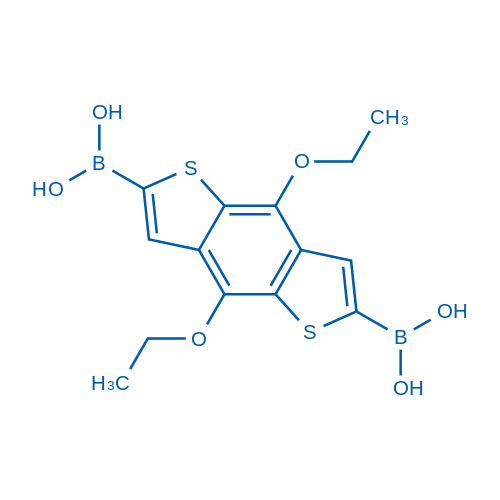 (4,8-Diethoxybenzo[1,2-b:4,5-b']dithiophene-2,6-diyl)diboronic acid
