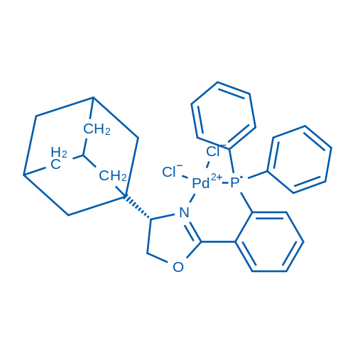 (4S)-4-(Adamantan-1-yl)-2-(2-(diphenylphosphaneyl)phenyl)-4,5-dihydrooxazole-PdCl2