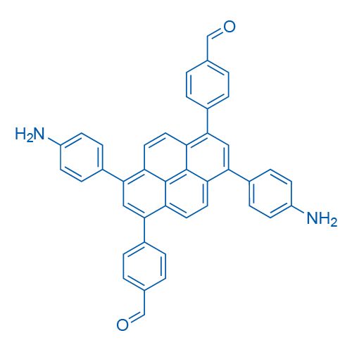 4,4'-(3,8-Bis(4-aminophenyl)pyrene-1,6-diyl)dibenzaldehyde