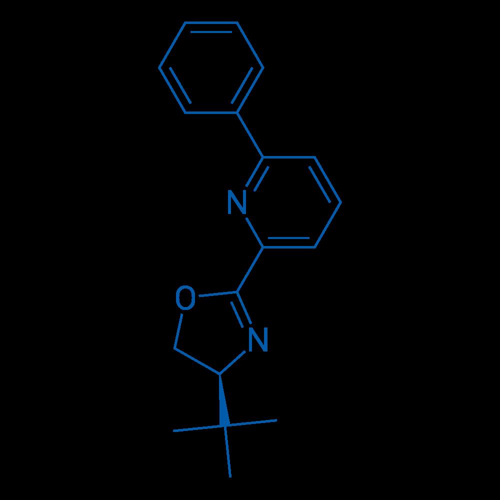 (S)-4-(tert-Butyl)-2-(6-phenylpyridin-2-yl)-4,5-dihydrooxazole