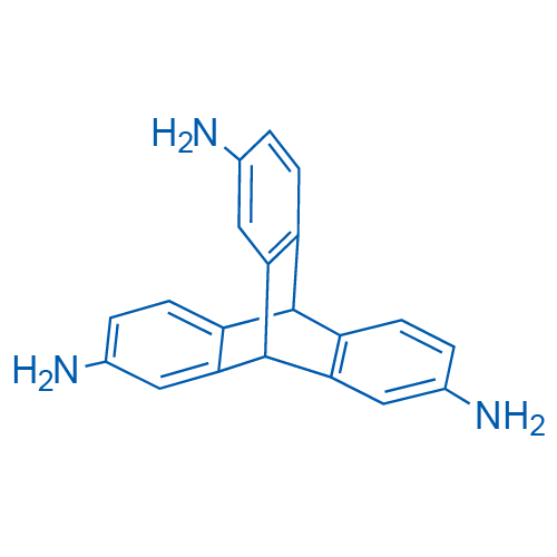 9,10-Dihydro-9,10-[1,2]benzenoanthracene-2,7,14-triamine