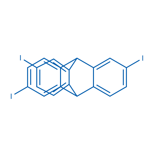 2,6,14-Triiodo-9,10-dihydro-9,10-[1,2]benzenoanthracene