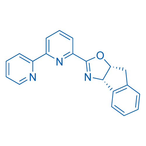 (3aS,8aR)-2-([2,2'-Bipyridin]-6-yl)-3a,8a-dihydro-8H-indeno[1,2-d]oxazole