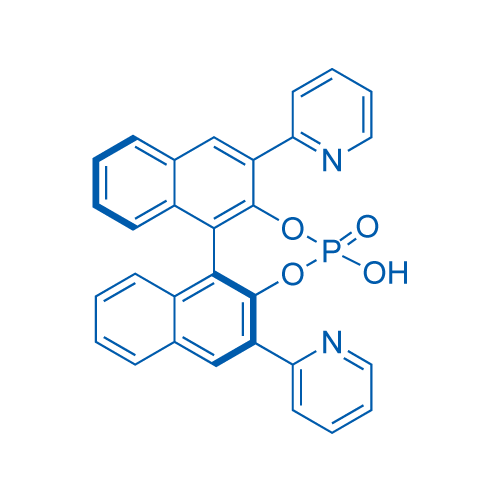 (S)-3,3'-Di(pyridin-2-yl)-1,1'-binapthyl-2,2'-diyl hydrogenphosphate