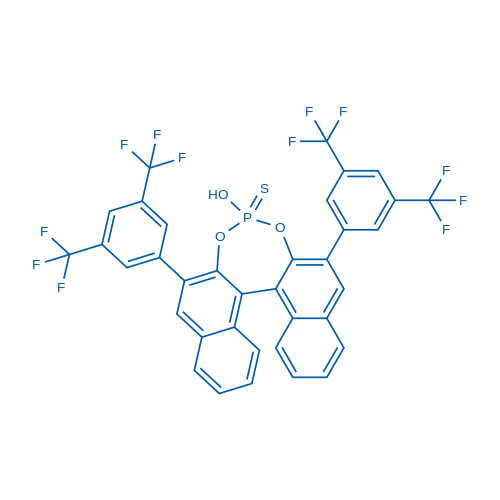 2,6-Bis(3,5-bis(trifluoromethyl)phenyl)-4-hydroxydinaphtho[2,1-d:1',2'-f][1,3,2]dioxaphosphepine 4-sulfide