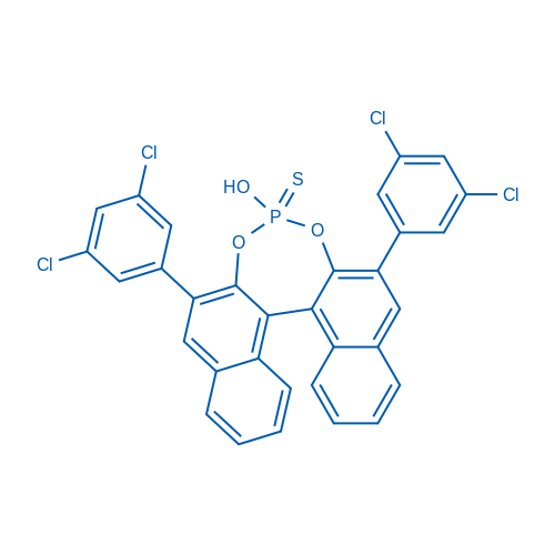 2,6-Bis(3,5-dichlorophenyl)-4-hydroxydinaphtho[2,1-d:1',2'-f][1,3,2]dioxaphosphepine 4-sulfide