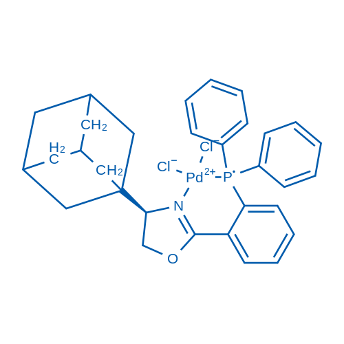 (4R)-4-(Adamantan-1-yl)-2-(2-(diphenylphosphaneyl)phenyl)-4,5-dihydrooxazole-PdCl2
