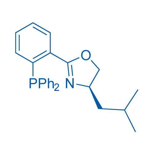 (R)-2-(2-(Diphenylphosphanyl)phenyl)-4-isobutyl-4,5-dihydrooxazole