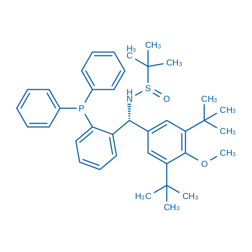 (S)-N-((R)-(3,5-Di-tert-butyl-4-methoxyphenyl)(2-(diphenylphosphanyl)phenyl)methyl)-2-methylpropane-2-sulfinamide