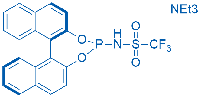 N-[(11BR)-dinaphtho[2,1-d:1',2'-f][1,3,2]dioxaphosphepin-4-yl]-1,1,1-trifluoromethanesulfonamide triethylamine adduct