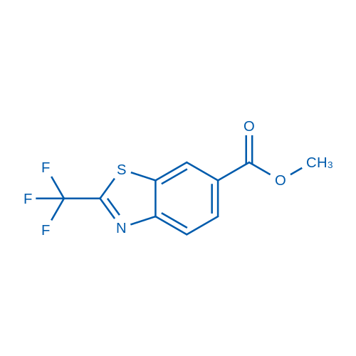 Methyl 2-(trifluoromethyl)benzo[d]thiazole-6-carboxylate