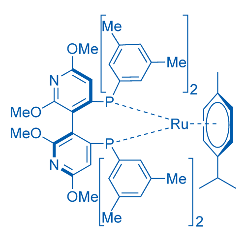 [(R)-Xyl-P-phos ruCl (p-cymene)]Cl