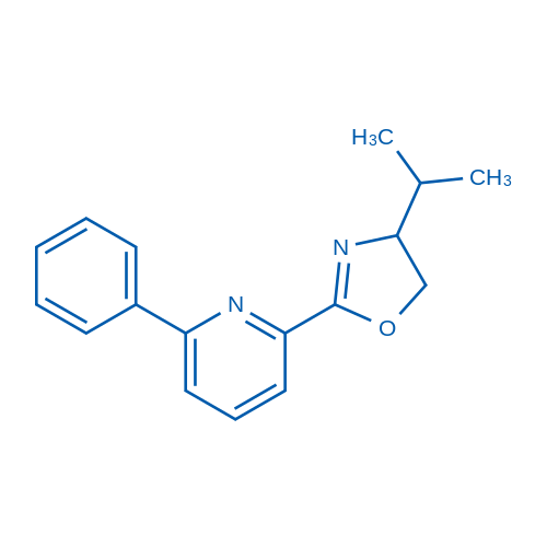 4-Isopropyl-2-(6-phenylpyridin-2-yl)-4,5-dihydrooxazole