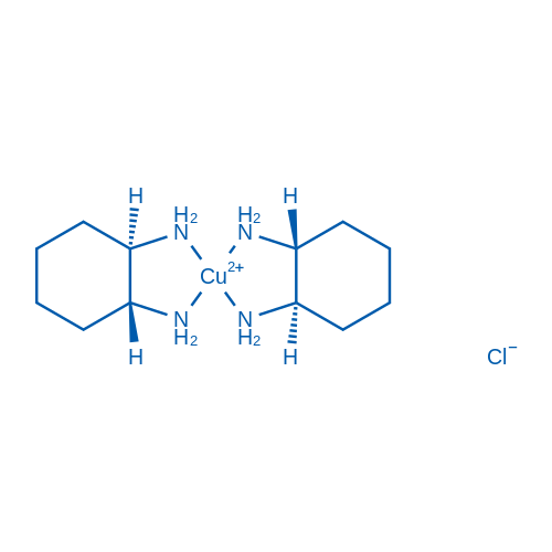 Copper(2+), bis[(1R,2R)-1,2-cyclohexanediamine-κN,κN']-, dichloride