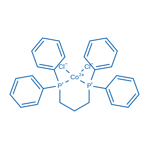 Dichlorobis(diphenylphosphinopropane)cobalt