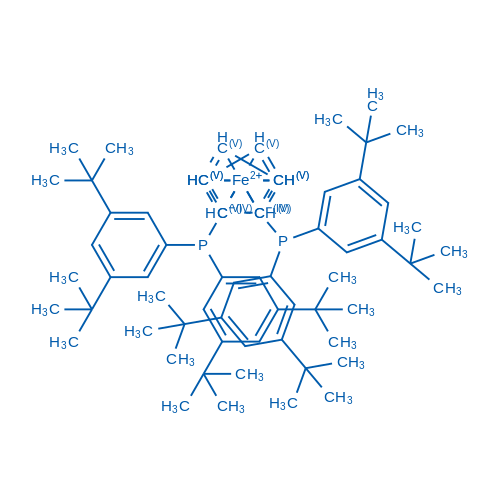 1,1'-Bis[bis[3,5-bis(1,1-dimethylethyl)phenyl]phosphino]ferrocene