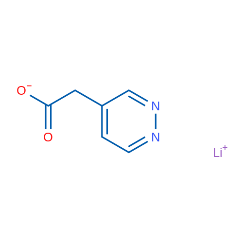 Lithium 2-(pyridazin-4-yl)acetate