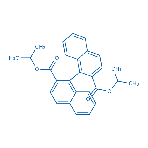 (S)-Diisopropyl [1,1'-binaphthalene]-2,2'-dicarboxylate