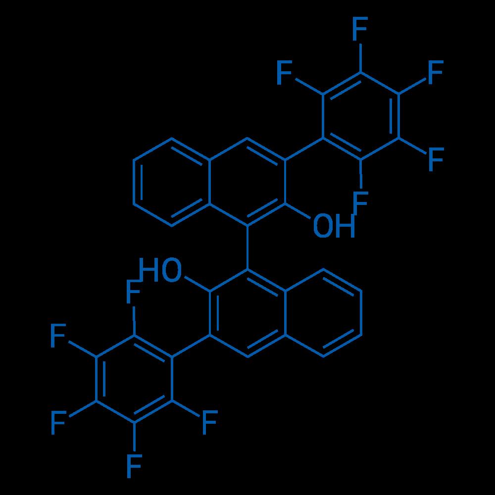 (3S)-3,3'-Bis(perfluorophenyl)-[1,1'-binaphthalene]-2,2'-diol