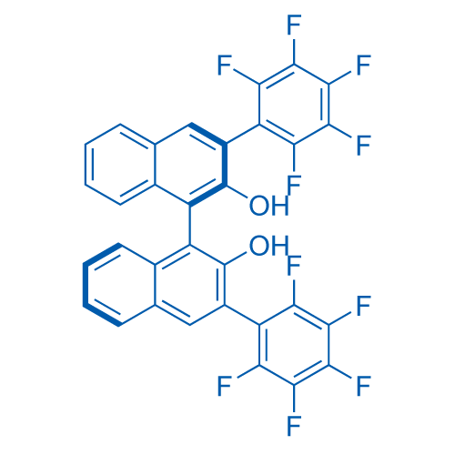 (3R)-3,3'-Bis(perfluorophenyl)-[1,1'-binaphthalene]-2,2'-diol