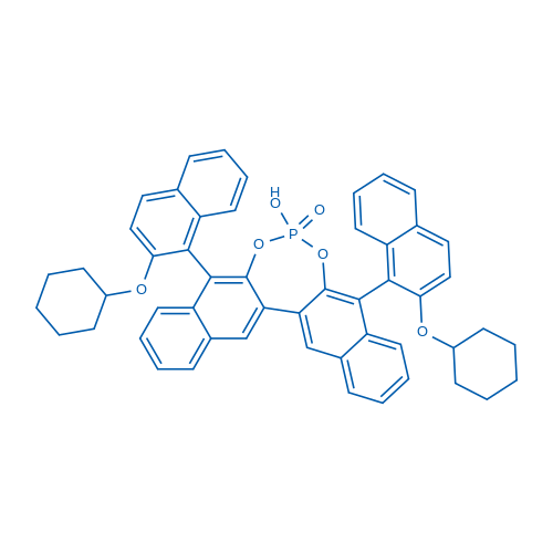 (5S,9S)-5,9-Bis(2-(cyclohexyloxy)naphthalen-1-yl)-7-hydroxydinaphtho[2,3-d:2',3'-f][1,3,2]dioxaphosphepine 7-oxide
