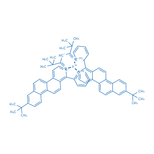 Bis[2-[8-(1,1-dimethylethyl)naphth[2,1-f]isoquinolin-1-yl-κN]phenyl-κC](2,2,6,6-tetramethyl-3,5-heptanedionato-κO3,κO5)iridium