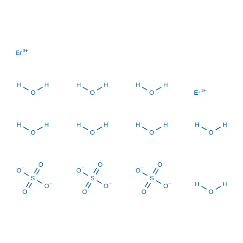 Erbium, octaaquabis[μ-[sulfato(2-)-κO:κO′]][sulfato(2-)-κO]di-