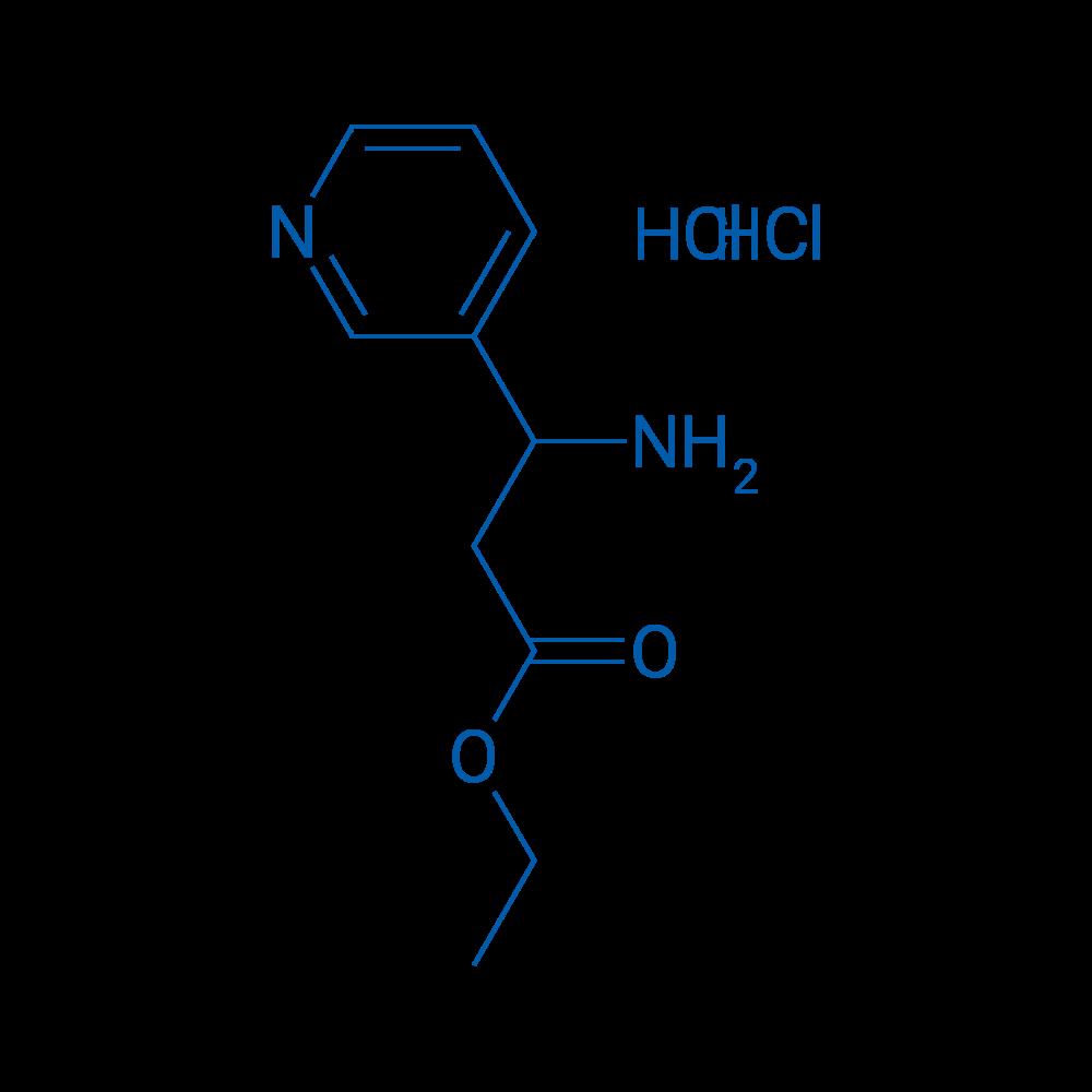 Ethyl 3-amino-3-(pyridin-3-yl)propanoate dihydrochloride