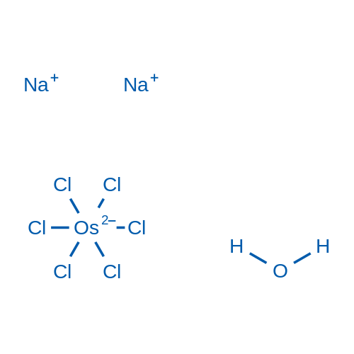 Sodium hexachloroosmiate(IV) xhydrate