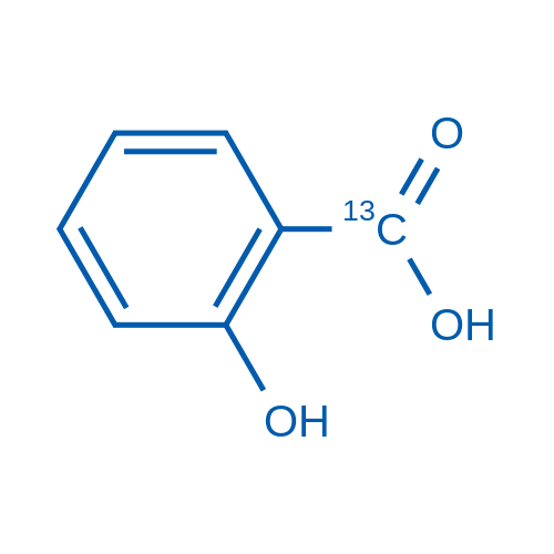 2-Hydroxybenzoic-carboxy-13C acid