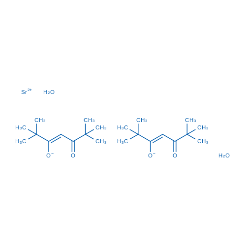 Bis(2,2,6,6-tetramethyl-3,5-heptanedionato)strontium dihydrate