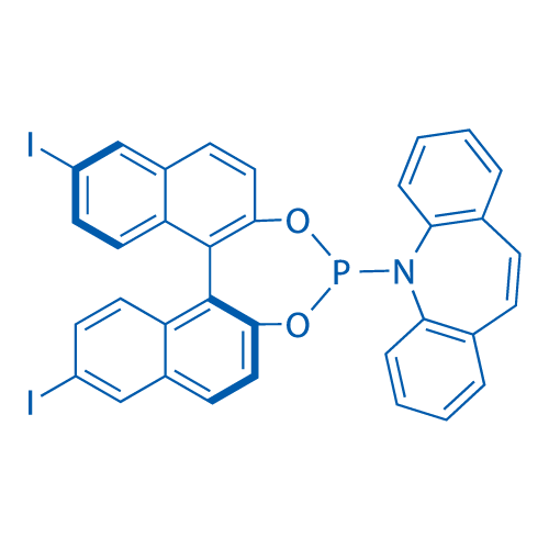 5-((11bS)-9,14-Diiododinaphtho[2,1-d:1',2'-f][1,3,2]dioxaphosphepin-4-yl)-5H-dibenzo[b,f]azepine