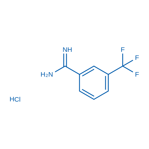 3-Trifluoromethylbenzamidinehydrochloride
