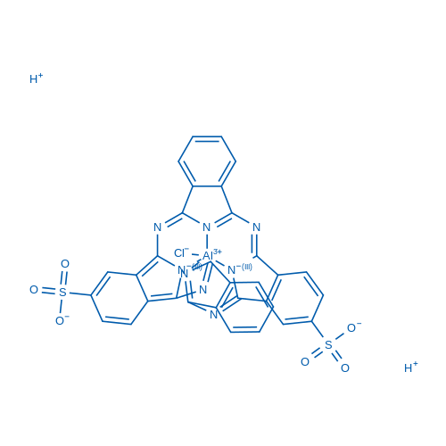 Aluminum phthalocyanine-2,16-disulfonate