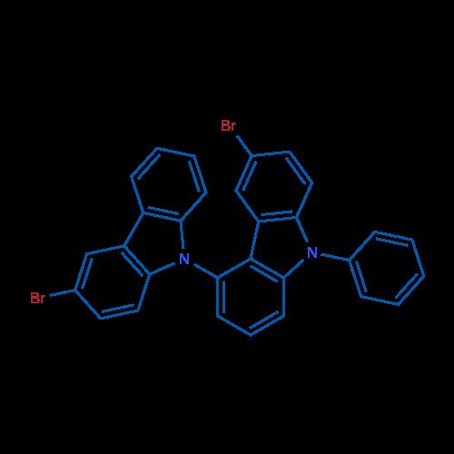 3',6-Dibromo-9-phenyl-9H-4,9'-bicarbazole