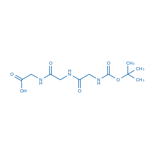 2,2-Dimethyl-4,7,10-trioxo-3-oxa-5,8,11-triazatridecan-13-oic acid