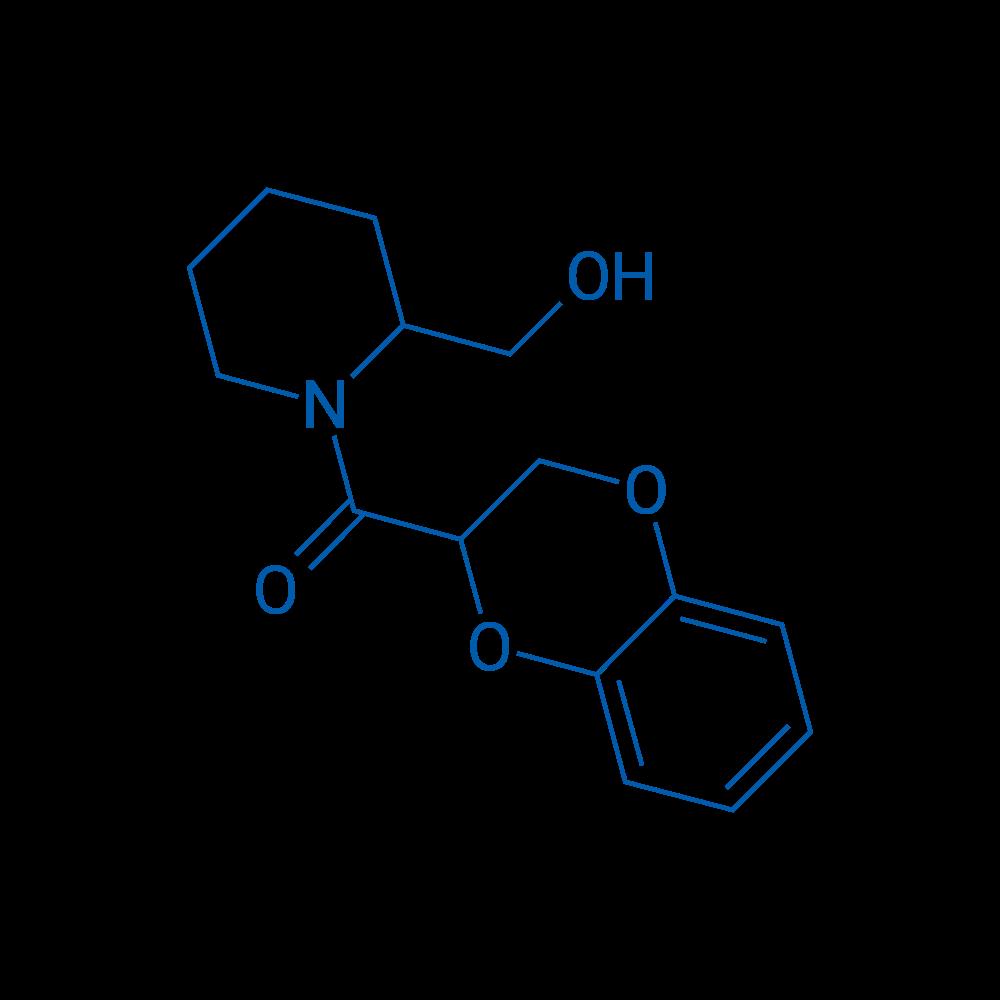 (2,3-Dihydrobenzo[b][1,4]dioxin-2-yl)(2-(hydroxymethyl)piperidin-1-yl)methanone