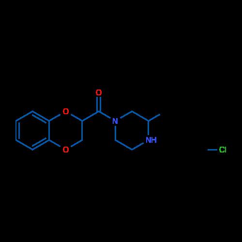 (2,3-Dihydrobenzo[b][1,4]dioxin-2-yl)(3-methylpiperazin-1-yl)methanone hydrochloride
