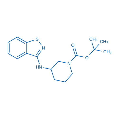 tert-Butyl 3-(benzo[d]isothiazol-3-ylamino)piperidine-1-carboxylate