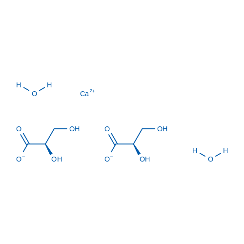 Calcium (R)-2,3-dihydroxypropanoate dihydrate