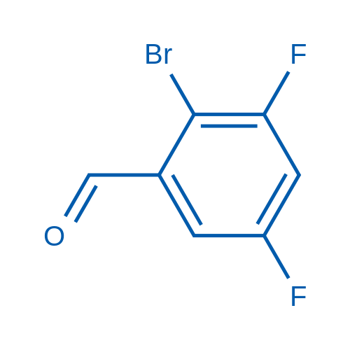 2-Bromo-3,5-difluorobenzaldehyde
