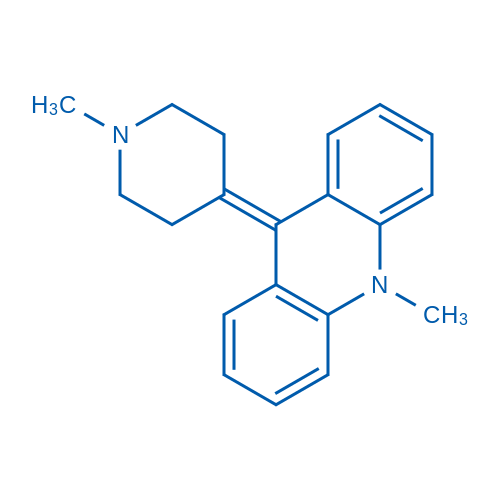 10-Methyl-9-(1-methylpiperidin-4-ylidene)-9,10-dihydroacridine
