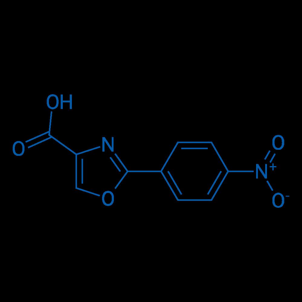 2-(4-Nitrophenyl)oxazole-4-carboxylic acid
