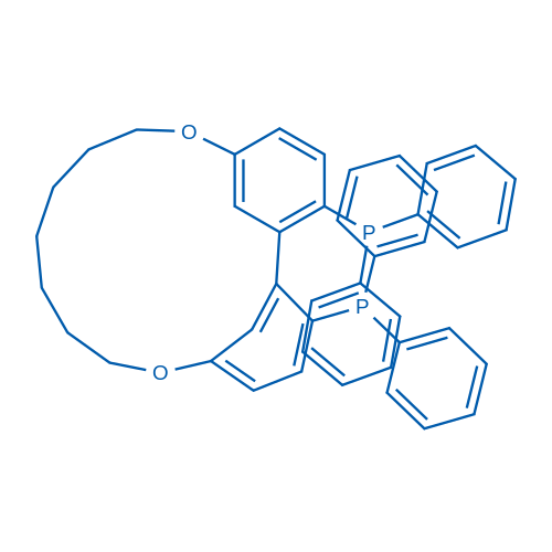 (R)-16,26-Bis(diphenylphosphaneyl)-3,11-dioxa-1,2(1,3)-dibenzenacycloundecaphane