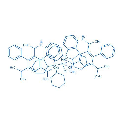 Dichlorobis[dicyclohexyl[2′,4,′6′-tris(1-methylethyl)[1,1′:3′,1′′-terphenyl]-2-yl]phosphine]palladium