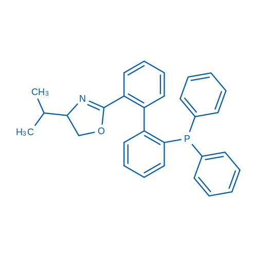 (1S,4S)-2-(2'-(Diphenylphosphanyl)-[1,1'-biphenyl]-2-yl)-4-isopropyl-4,5-dihydrooxazole